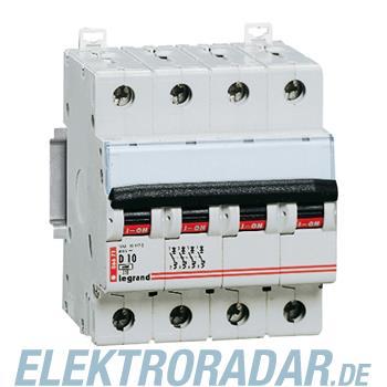 Legrand 6672 Leitungsschutzschalter D 13A 4-polig 6kA