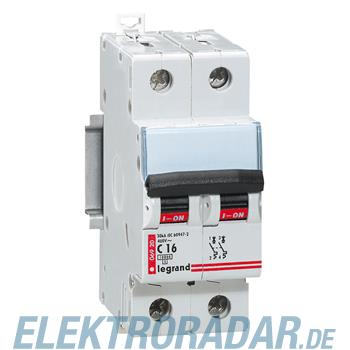 Legrand 6916 Leitungsschutzschalter C 6A 2-polig 10kA