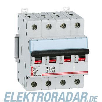 Legrand 6996 Leitungsschutzschalter C 6A 4-polig 10 kA