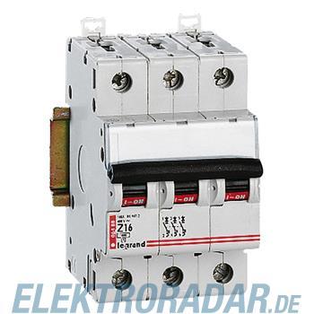 Legrand 7230 Leitungsschutzschalter Z 3A 4-polig 25 kA