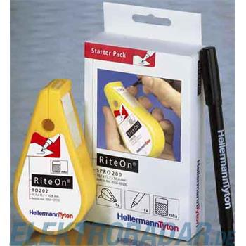 HellermannTyton Etiketten 12,7x50,8mm RO202REF-1401-WH