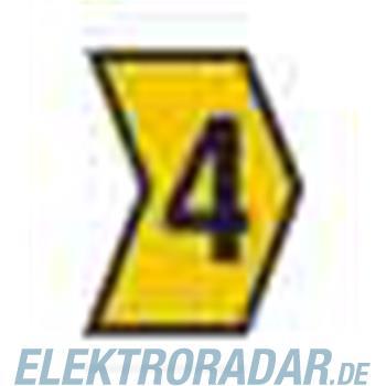 HellermannTyton Kennzeichnungstülle HG1-3-4-PVC-YE-M4