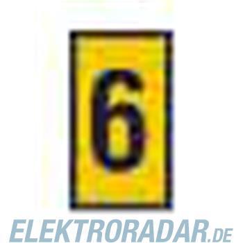 HellermannTyton Kennzeichnungstülle HODS85-6-PVC-YE-M4