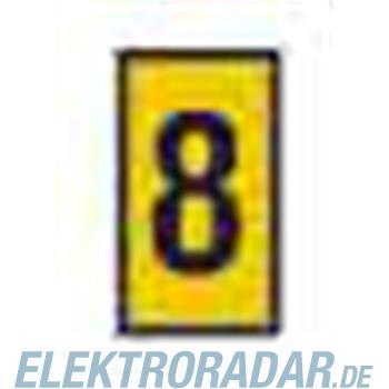 HellermannTyton Kennzeichnungstülle HODS85-8-PVC-YE-M4