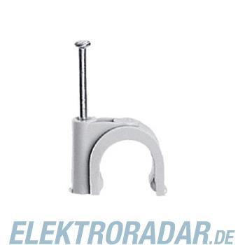 Legrand 31530 Nagelschelle für Kabel Ø 12mm grau