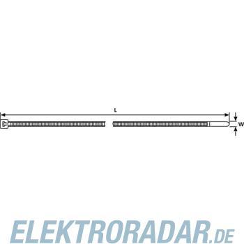 HellermannTyton Kabelbinder T50R-V0-WH-C1