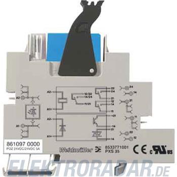 Weidmüller Elektronischer Baustein POZ-24VDC/24VDC 5A