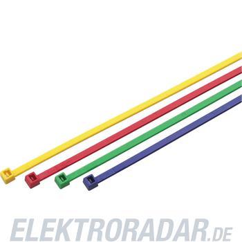 Cimco Kabelbinder rot BxL 4,5x28 18 1456