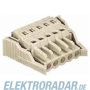 WAGO Kontakttechnik Federleiste mit Verriegelu 721-105/037-000