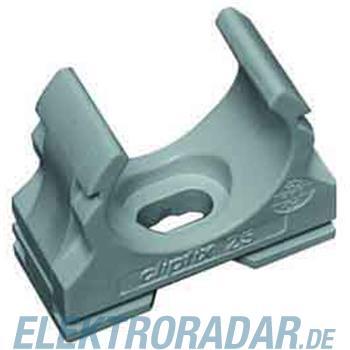 Fränkische Kunststoff-Klemmschelle clipfix-UV 40 grau