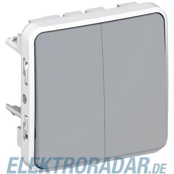 Legrand 69525 Wippschalter Doppelwechsel Feuchtraum Modular Plex