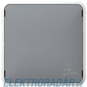Legrand 69537 Blindabdeckung Feuchtraum Modular Plexo55 grau