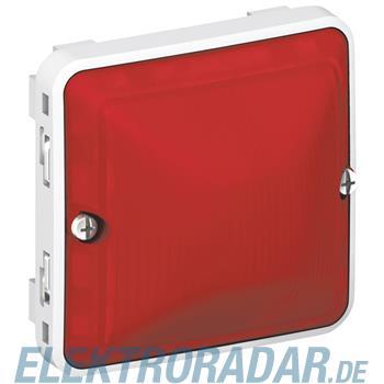 Legrand 69591 Haube rot Feuchtraum Aufputz Plexo 55 grau