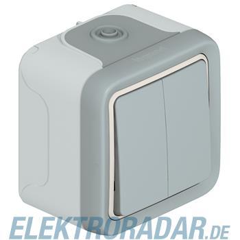 Legrand 69714 Wippschalter Serie Feuchtraum Aufputz Plexo 55 gra
