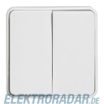Legrand 70726 Wippschalter Doppelwechsel Feuchtraum Modular Plex