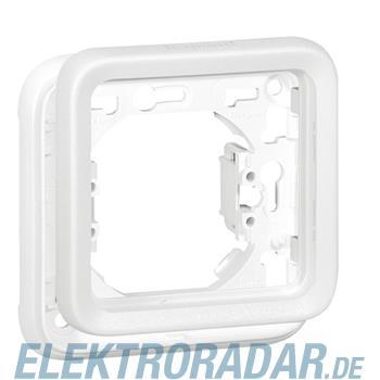 Legrand 70792 FR Abdeckrahmen 1-fach Feuchtraum Aufputz Plexo 55