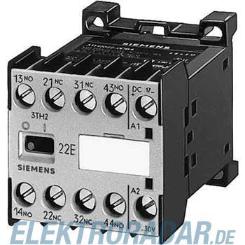 Siemens Hilfsschütz 40E, 4NO, Schn 3TH2040-3BB4