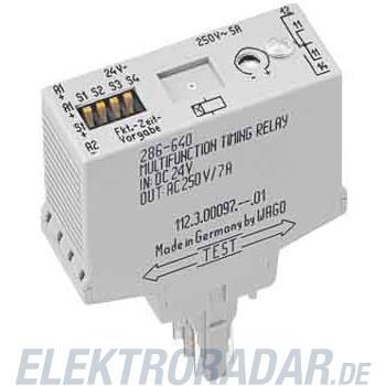 WAGO Kontakttechnik Zeitrelais-Baustein mit Ei 286-602