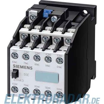Siemens Hilfsschütz 64E 6NO+4NC 3TH4364-0AN2