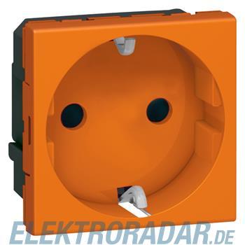 Legrand 77217 SDO Schuko SL 2mod orange Mosaic