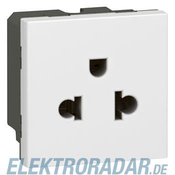 Legrand 77502 SDO EURO/US 2p+E SK 2md ws Mosaic