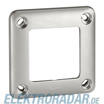 Legrand Rahmen 1-fach Soliroc IP55 IK10 grau, 77851 77851