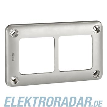 Legrand 77852 Rahmen 2-fach waagerecht/senkrecht Soliroc IP55 IK