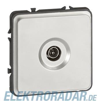 Legrand 77882 Einsatz TV+SAT mit IEC Buchse Soliroc IP20 IK10 gr