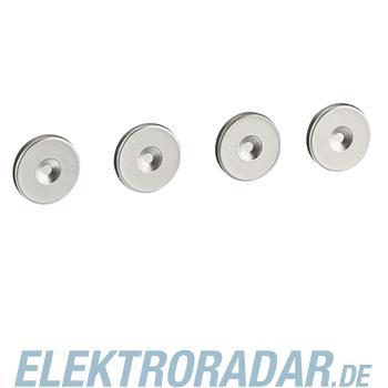 Legrand 77896 Schraubenabdeckung 4 Stück Soliroc IP55IK10 grau