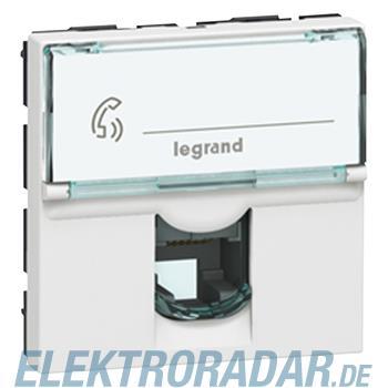 Legrand 78730 Tel.dose 1f. RJ11 1mod ws Mosaic