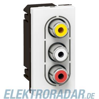 Legrand 78754 RCA rt/ws/gb 1mod ws Mosaic