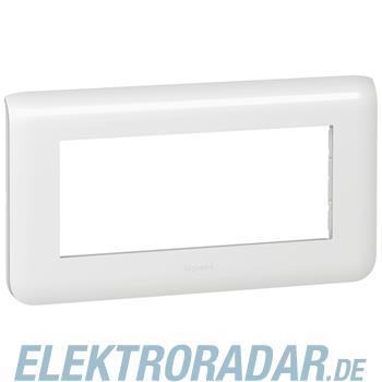 Legrand 78815 Rahmen 5mod horizontal ws Mosaic