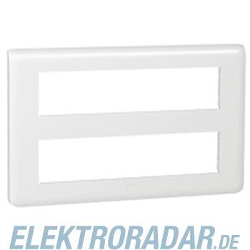 Legrand 78828 Rahmen 2x10mod ws Mosaic