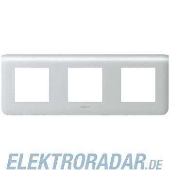 Legrand 79006 Rahmen 3x2mod horiz. Alu Mosaic