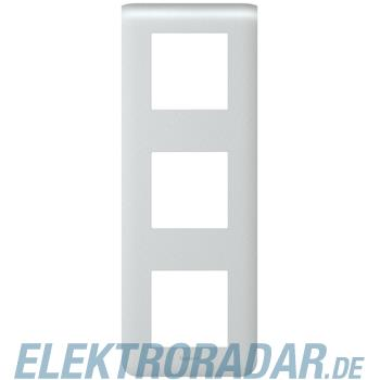 Legrand 79023 Rahmen 3x2mod vertikal alu Mosaic