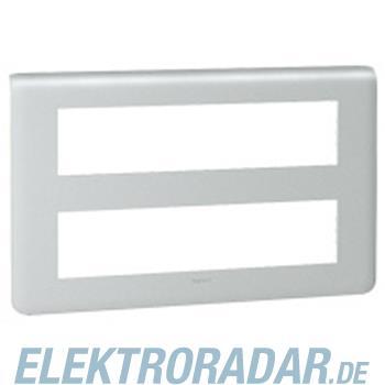 Legrand 79028 Rahmen 2x10mod alu Mosaic