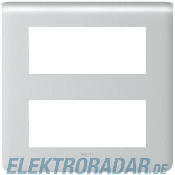 Legrand 79030 Rahmen 2x5mod alu Mosaic