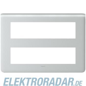 Legrand 79037 Rahmen 2x8mod alu Mosaic