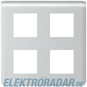 Legrand 79038 Rahmen 2x2x2mod alu Mosaic
