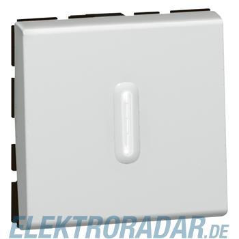 Legrand 79212 Wechs Ktrl/bel SL 2mod alu Mosaic