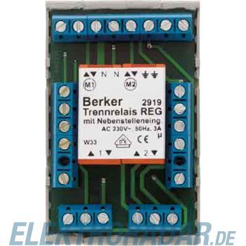 Berker Trennrelais REG 2919