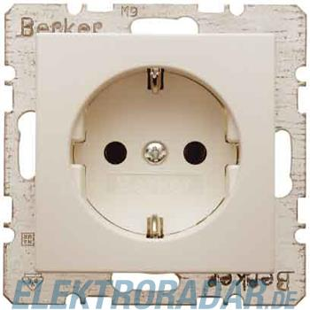 Berker SCHUKO-Steckdose ws/gl 41238982