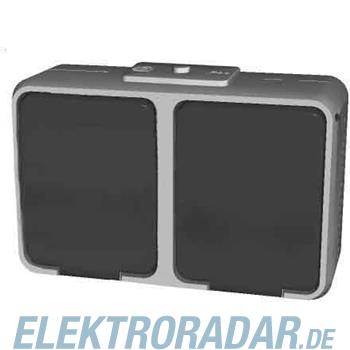 Elso Steckdose 2-fach, waagerec 455729