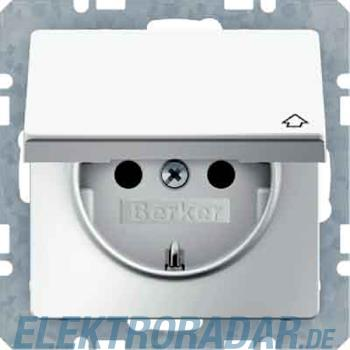 Berker SCHUKO-Steckdose m. Klappd 47516079