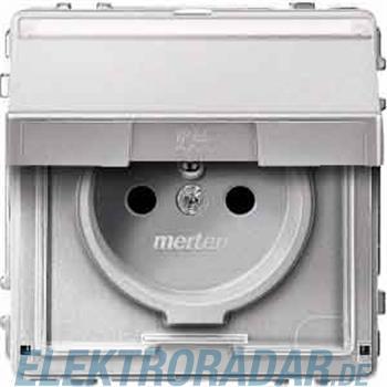 Merten SCHUKO-Steckdose alu MEG2312-7260