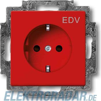 Busch-Jaeger Steckdosen-Einsatz EDV 20 EUCKS/DV-12-82
