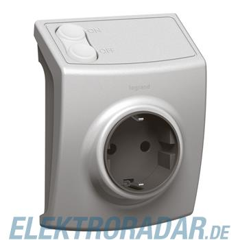 Legrand 88263 IOBL Mobile schaltbare Steckdose 2500W PLC/IR
