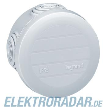 Legrand 92001 Abzweigdose rund Ø60mm, Höhe 40mm, 4 Membran Einfü