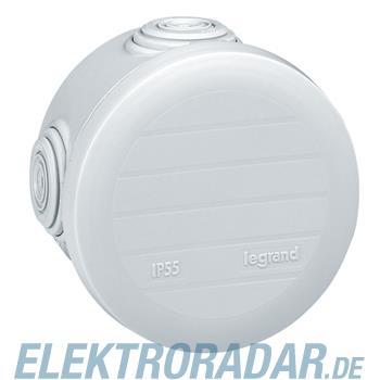 Legrand 92003 Abzweigdose rund Ø70mm, Höhe 45mm, 4 Membran Einfü