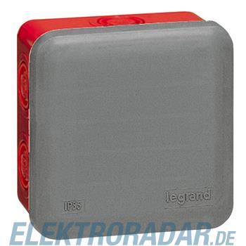 Legrand 92009 Abzweigdose quadratisch 80x80x45mm, Vorprägung 7xM